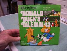"Walt Disney ""DONALD DUCK'S DILEMMAS"" # 637, Super 8 - 8MM, 7"" Reel, Real Nice!"