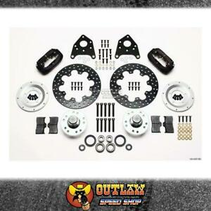 WILWOOD FRONT DISC BRAKE KIT FITS FORD 65-69 MUSTANG XR-XF FALCON - WIL1404307BD
