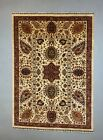 Fine Afghan Wool Ziegler Rug 241x186 cm Handmade Chobi Rug Natural Dyes
