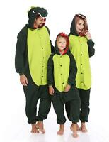 Dinosaur Costume Animal Kigurumi Adult Kids Pajamas Halloween Cosplay Outfit
