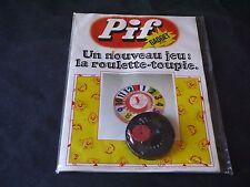 VAILLANT PIF GADGET N°255 AVEC GADGET LE ROULETTE TOUPIE