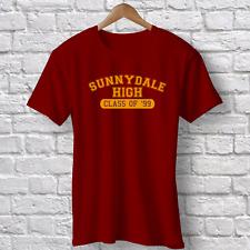 Sunnydale High Maroon T-shirt Retro 1990s TV Buffy Inspired Vampire Slayer
