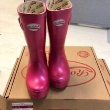 Rockfish Wellies Kids Wellington boots Metallic Blush - child size 11 UK