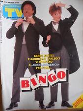 TV Sorrisi e Canzoni n°4 1994 Gabriella Carlucci Gerry Scotti Bryan Adams [D46]