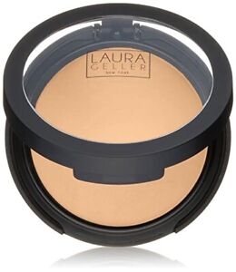 Laura Geller Double Take Baked Powder Foundation New in Box **FREE GIFT**