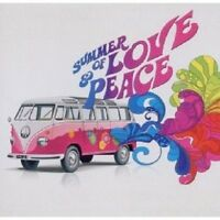 SUMMER OF LOVE AND PEACE 2 CD MIT VAN MORRISON UVM. NEU