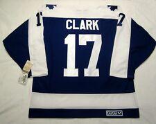 WENDEL CLARK - size MEDIUM - Toronto Maple Leafs CCM 550 VINTAGE Hockey Jersey