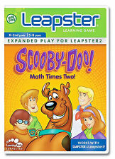 Leap Frog Leapster Scooby -Doo Math Times Two Learning System Game (NIP)