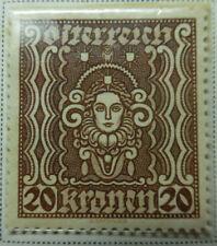 Austria 1922-24 Stamp 20 Kronen MNH Stamp StampBook1-11