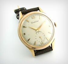 Vintage Watch...CORTEBERT....In House...Big Case....Gold Plated.....Nice!!