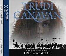 Trudi Canavan - LAST OF THE WILDS - 5 CD Audio Book Age of the FIVE 2