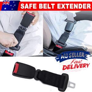 Seat Belt Extender Heavy Duty Car Vehicle Strap Black Extension Safety Buckle