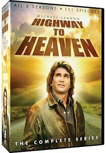"Highway To Heaven The Complete Season 1, 2, 3, 4 & 5 DVD Box Set ""Clearance"" R1"
