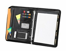 A4 Executive Conference Zipped /portfolio Business Folder / Black