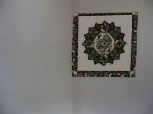 """Pillow Panel,18"""" X 17 1/2"""",""""Salem Star Brown"""",Cotton Blend Material"""