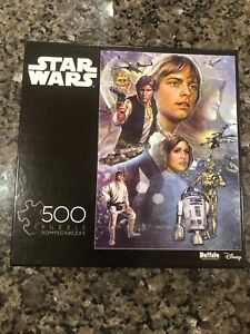 RARE Star Wars Celebration A New Hope Limited Edition #3351 500 Piece Puzzle