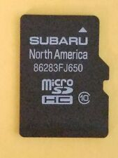 86283fj650 Subaru Micro SD Nvigtion Map Card CrossTrek Forester Impreza STI WRX