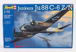 Revell 04856 Junkers Ju 88 C-6 Z/N Plastik-Modellbausatz NEU