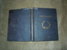 Vintage antique 1929 HC Book.  PREDKRMY (Starters)  Czech / Slovenia Cookbook.