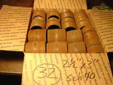 "2-1/2"" x 3"" NPT Threaded Black Pipe Nipple Lot of 32 New 3"" Long"