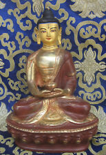 Handmade Gold Plated Amitabha  Buddha Rupa, Nepal