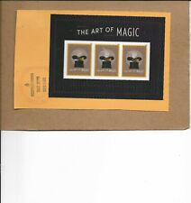 SCOTT 5306 ART OF MAGIC SOUVENIR SHEET USED ON PAPER