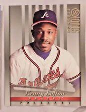 1997 Donruss Studio Portrait 8x10 Kenny Lofton Braves Baseball Card