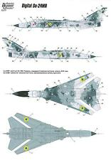 Authentic Decals 1/72 DIGITAL FENCER Ukranian Sukhoi Su-24MR Digital Camoflage