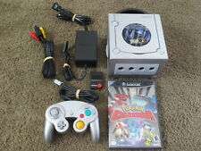 Nintendo GameCube Pokemon Xd Edition Console + Colosseum bundle lot system