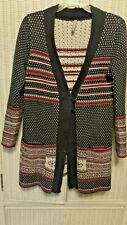 Hanna Andersson Cardigan Sweater Women's Size S  Christmas/Winter Cotton