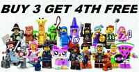 GENUINE LEGO MOVIE 2 MINIFIGURES 71023 PICK CHOOSE YOUR OWN + BUY 3 GET 1 FREE