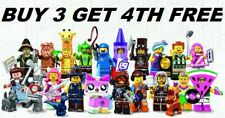 THE LEGO MOVIE 2 MINIFIGURES 71023 PICK CHOOSE YOUR OWN + BUY 3 GET 1 FREE