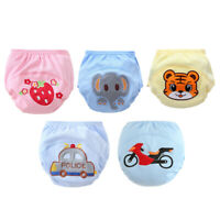 Reusable Baby Boys Girls Training Pants Cloth Diaper Nappy Washable Underwear