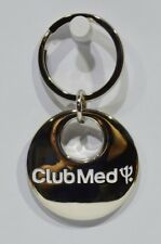 CLUB MED centre vacances porte-clé métal diamètre 3.5 cm