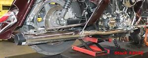 2006 Harley Street Glide Touring RINEHART TRUE DUALS Exhaust Pipes System *VIDEO