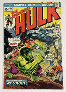 Hulk 180 VG 1974 Marvel comic 1st Wolverine  has Value Stamp