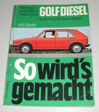 Reparaturanleitung VW Golf I / 1 Diesel + Turbodiesel bis Baujahr 1983