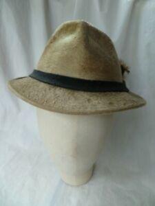 Original 'BATES' of Jermyn St London Fur Felt Velour Gents Hat 55-56cms