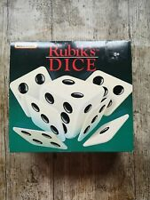 Rubik's DICE Puzzle game Vintage Matchbox (1990) - boxed with instructions