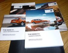2013 BMW X1 OWNERS MANUAL SET 13  X 1 GUIDE w/case NEW