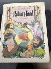 Pop-Up Robin Hood 1960's Children's book Random House Rare Classic Vintage HTF