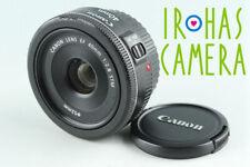 Canon EF 40mm F/2.8 STM Lens #28216 F4