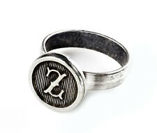 Customizable Initial Ring - Accessories - Rings - Women's Jewelry - Gift Box