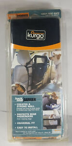 NEW Kurgo Back Seat Safety Barrier Universal Fit for Dogs Pets Damaged Packaging