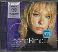 CD LEANN RIMES I NEED YOU 13T DUO WITH ELTON JOHN NEUF SCELLE INCLUS CAN'T FIGHT