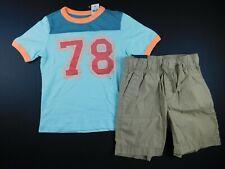 NWT Gap Boy's 2 Pc Set T-Shirt & Lightweight Shorts XXL(13+) New Free Shipping