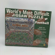 Buffalo Games Jigsaw Puzzle Worlds Most Difficult Football 529pcs Double Sided