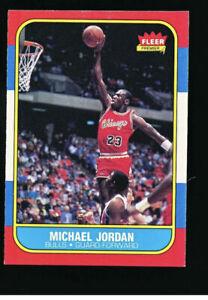 1986 87 FLEER PREMIER  REPRINT MICHAEL JORDAN ROOKIE CHICAGO BULLS
