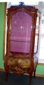 "Mae West Owned 1920""s Renaisance Cabinet"