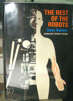 The Rest of the Robots. by Isaac Asimov (1964) HC.DJ. W/ Asimoc Signed Card VG+